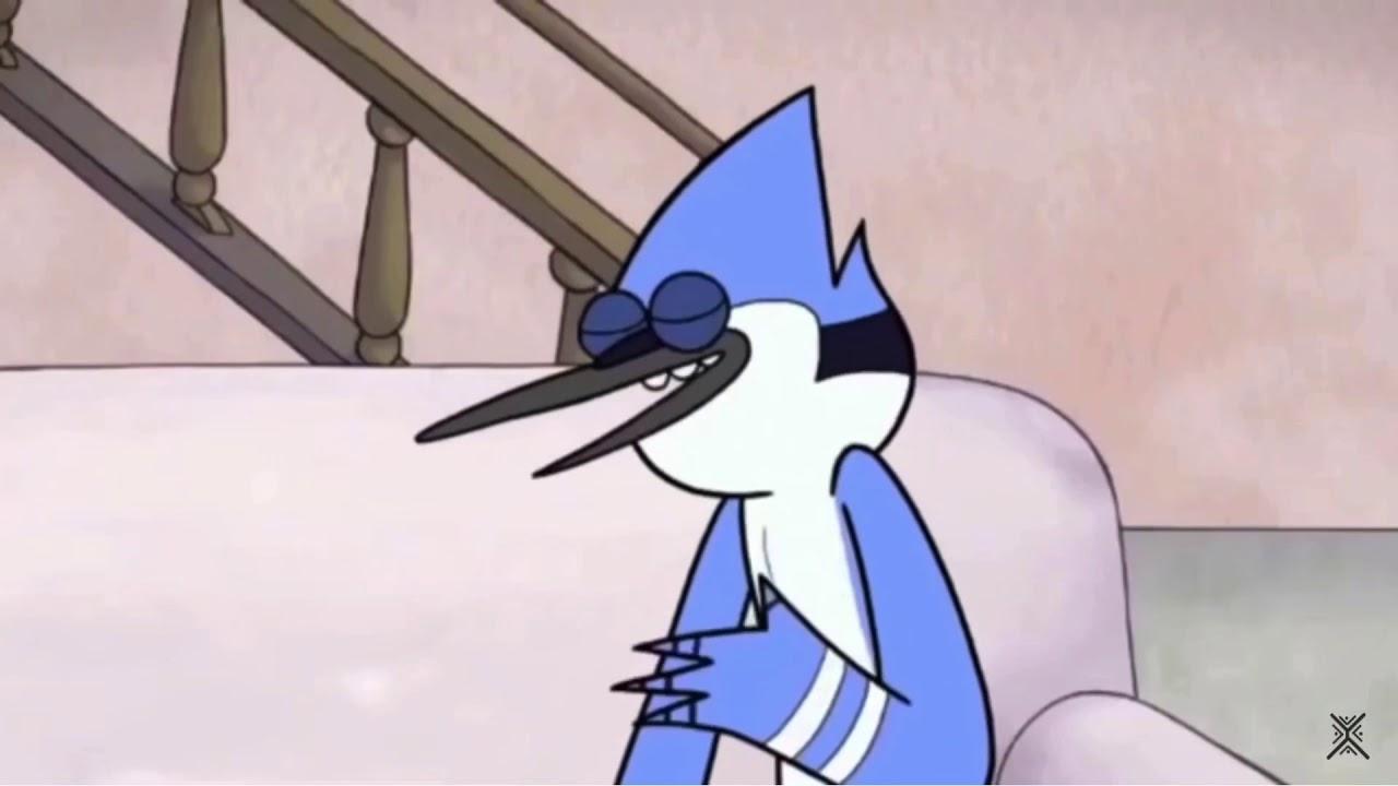 """You sure you can handle it?"" -Mordecai Regular show"