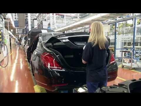 Производство Mercedes-Benz S-Class W222 часть 2