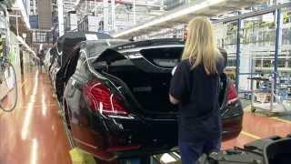 Производство Mercedes-Benz S-Class W222 часть 2(Производство Mercedes-Benz S-Class W222 часть 2 В Sindelfingen есть просто производство, а там делают лучшие автомобили в..., 2013-09-16T18:34:34.000Z)