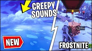 Fortnite NEW *SECRET* ICEBERG CREEPY SOUNDS RECORDED & FrostNite ANNOUNCED (Season 7)