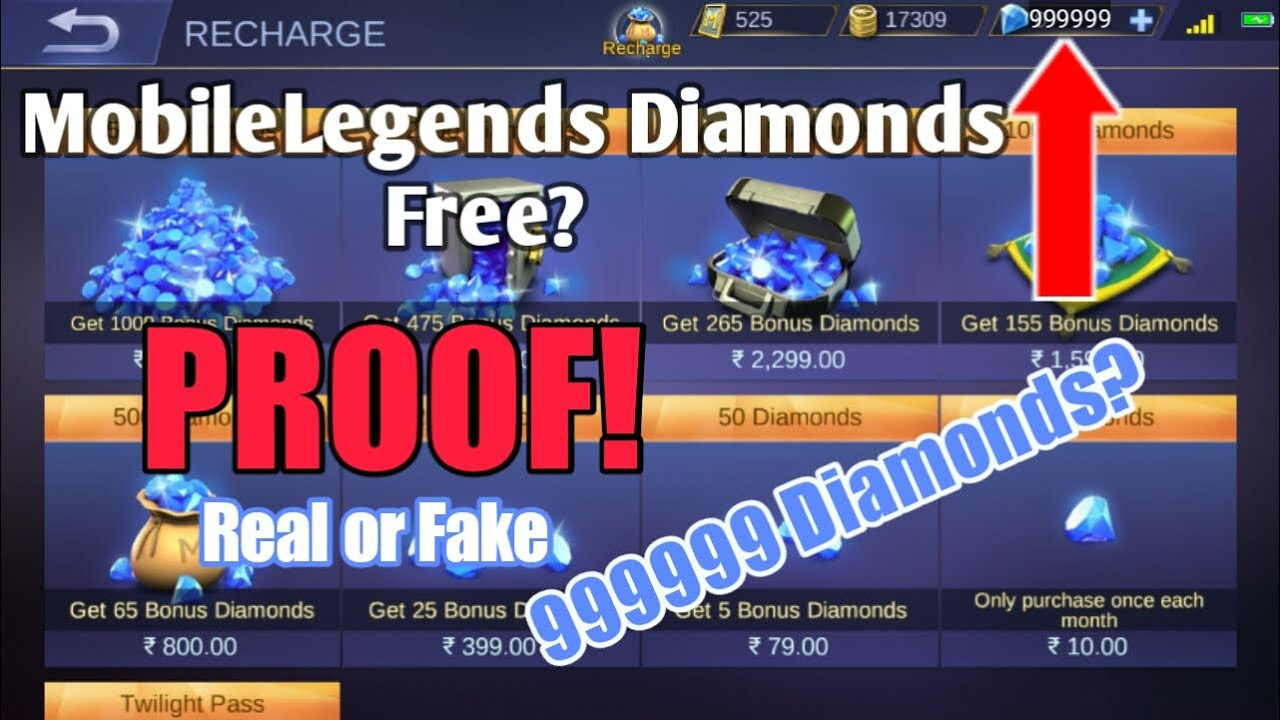 free diamonds generator for mobilelegends?|proof!!&explanation