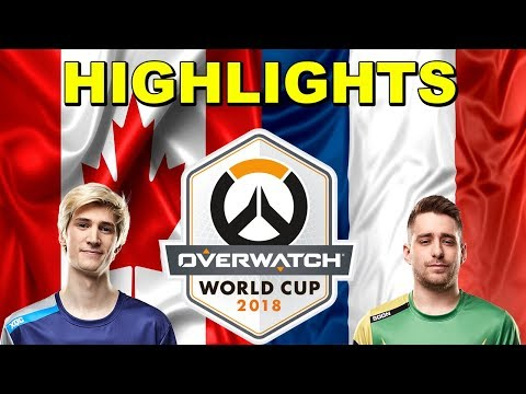 Canada vs France | Overwatch World Cup 2018 Highlights thumbnail