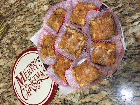 How To Bake Ludy Bars/Neiman Marcus Cookie Squares Recipe