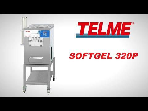 SOFTGEL 320P - Macchina a pompa per gelato soft e frozen yogurt TELME