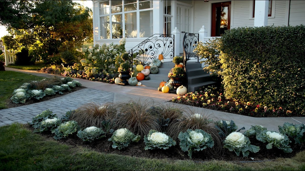 planting-up-our-front-entrance-for-fall-garden-answer
