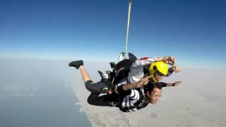 Nikunj Sky Diving-  Palm Jumeirah - 2016
