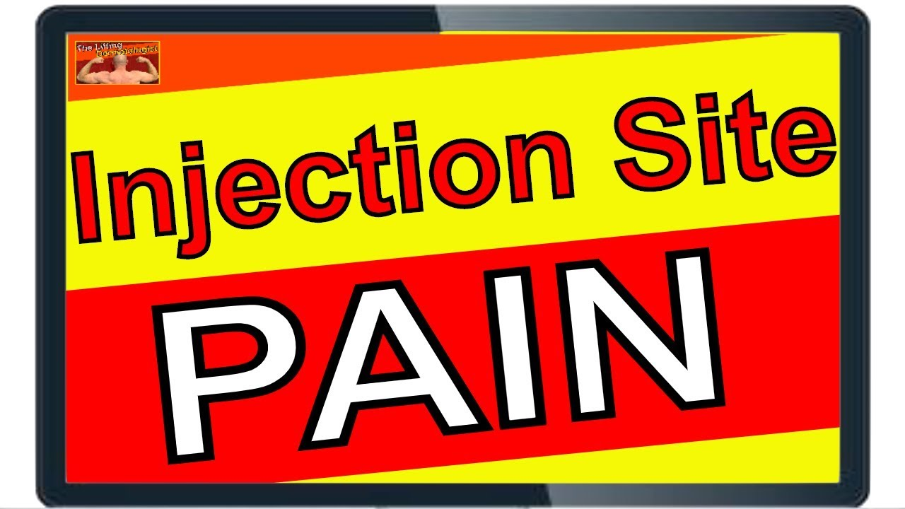 Testosterone Injection Site Pain - Prevention Tips - YouTube