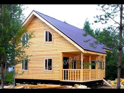 Фото строительства загородных домов