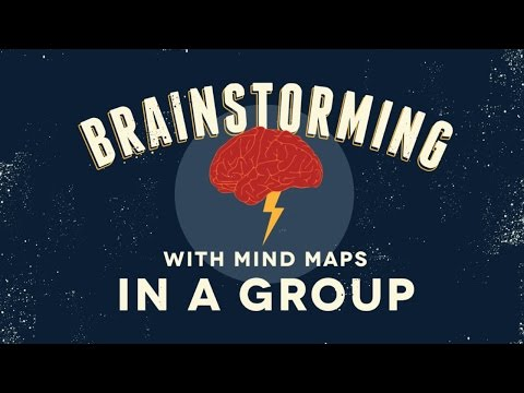 Brainstorming With Mind Maps in a Group