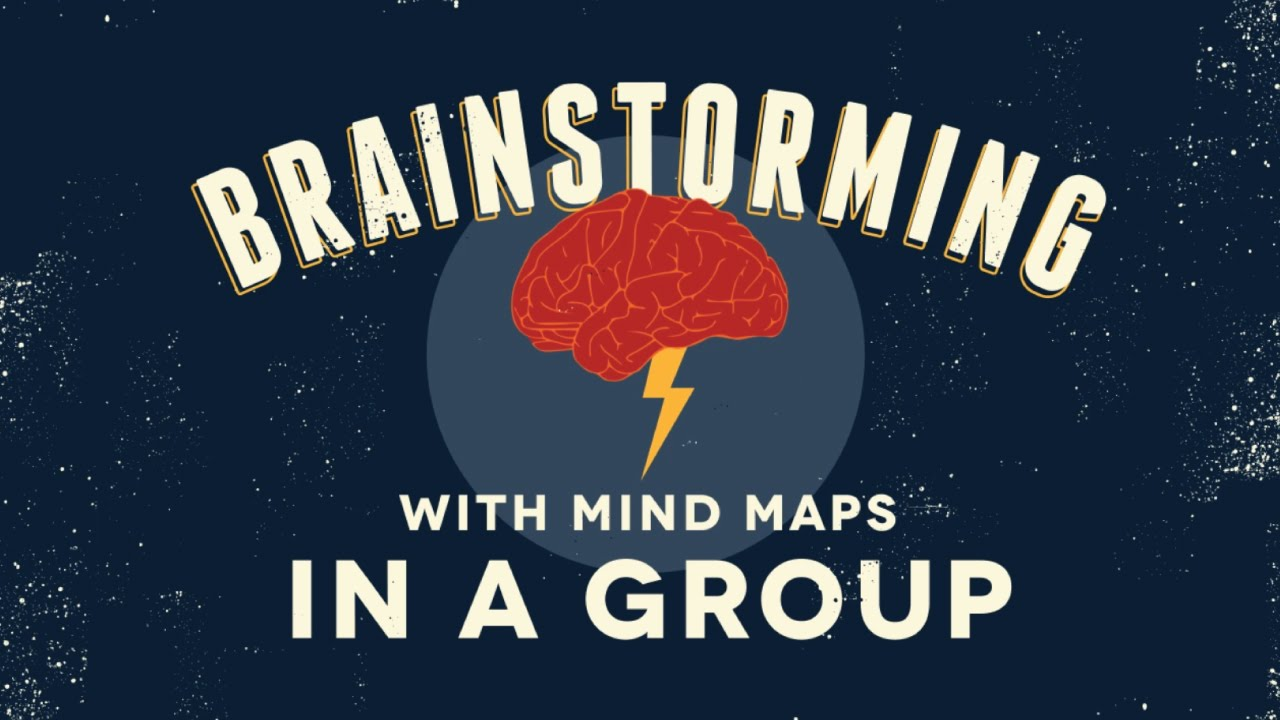 Brainstorming With Mind Maps in a Group - YouTube