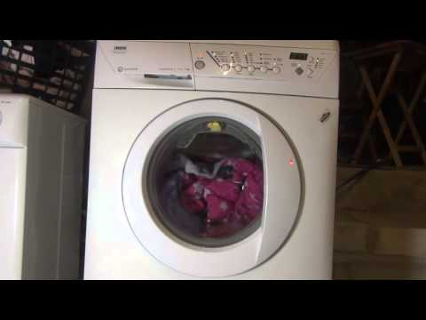 Zanussi Progress Jet System ZWF1437 : Cotton standard 60'c AA class (full cycle 2 hours 45)