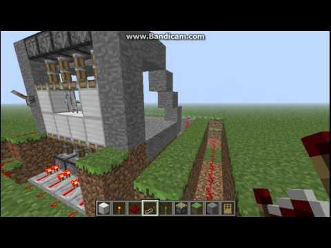 Garage Minecraft Garage Door Design