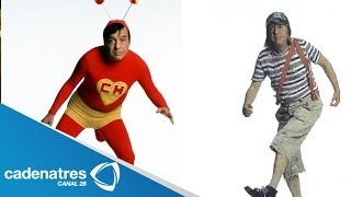 Chespirito se acostumbra a morir y a revivir / Chespirito get used to die and revive