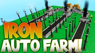 NEW Iron AUTO Farm & *AFK METHOD*! Sky Block Roblox