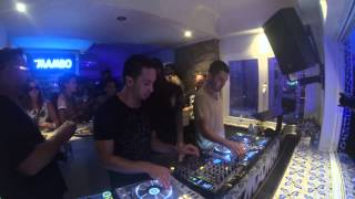 Steve Aoki, Dimitri Vegas, Like Mike, Laidback Luke & Junior Sanchez @ Café Mambo