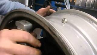 enderezar llantas como reparar llantas tornear reparacion de llantas maquina reparar llantas