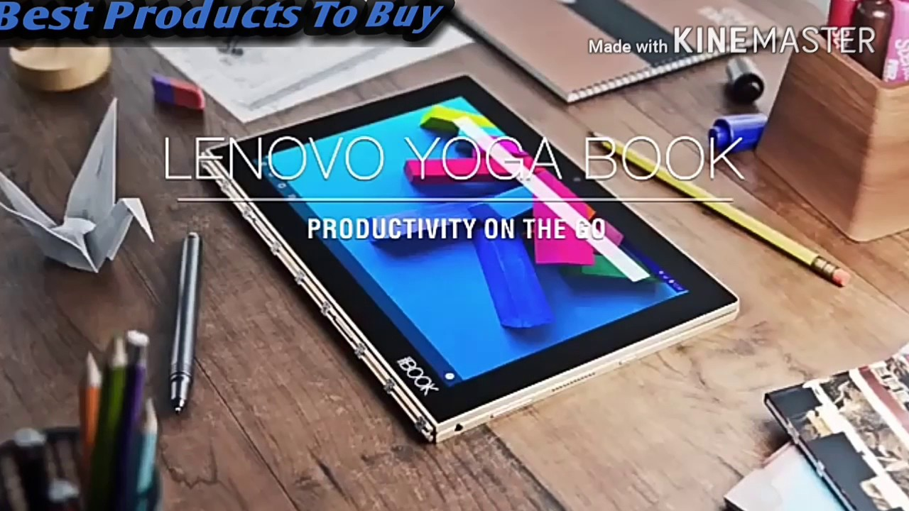 Lenovo Yoga Book Real Pen Both Windows and Android - Product tour and Quick  Look