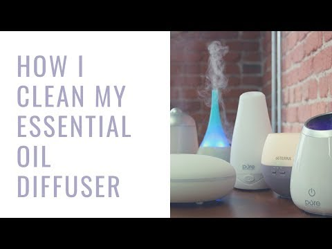 How I Clean My Essential Oil Diffuser (Takes just minutes)