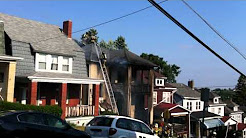 Fire at 2205 Vodeli St, Beechview, Pittsburgh, PA 6-28-2012