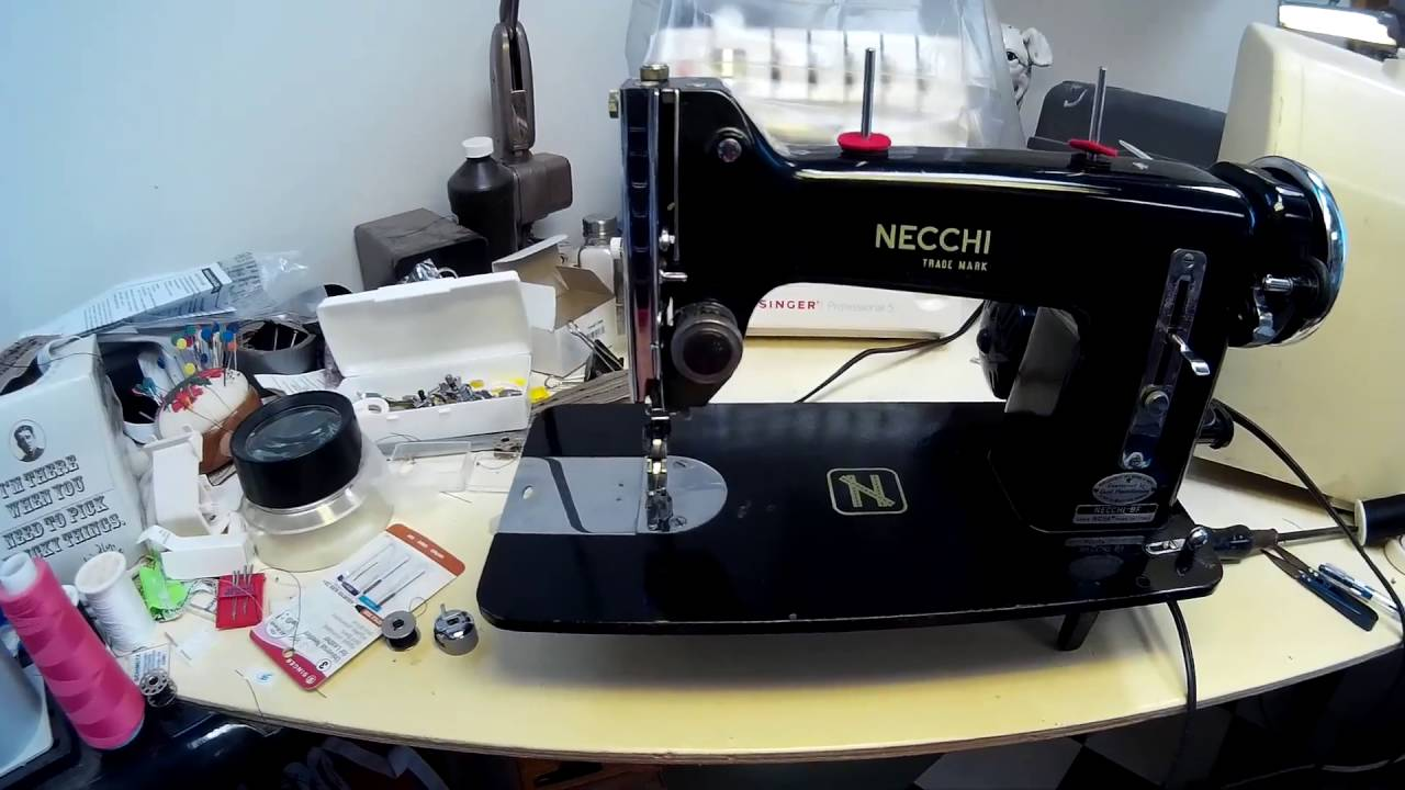 Necchi BF Nova cleanup/motor work - YouTube on necchi bu mira belt, necchi bu mira ebay, necchi bu mira sewing machine,