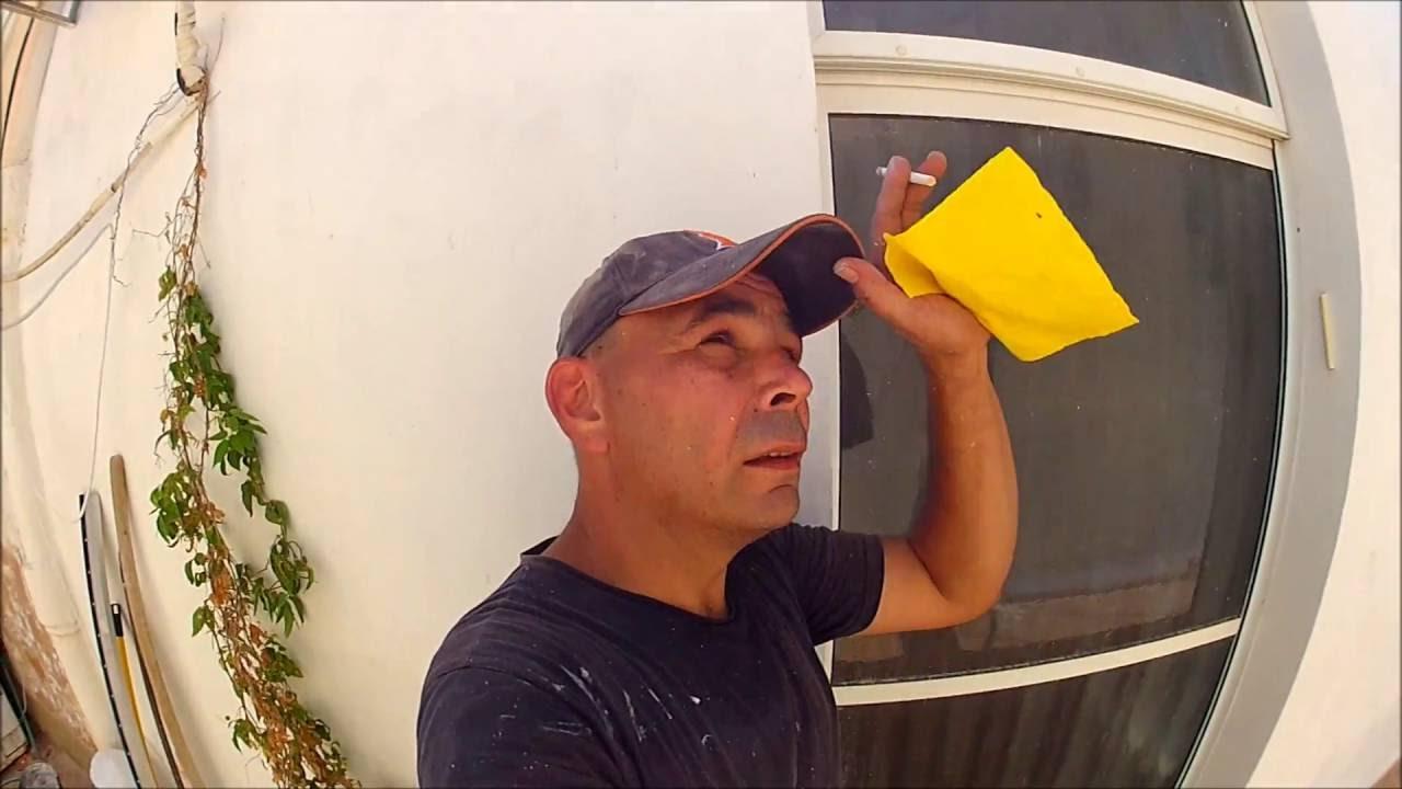 שיפוץ מרפסת חלק א - שיקום קיר חיצוני