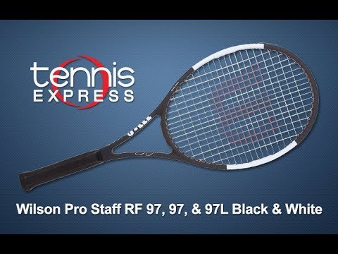 d2783a711bcb Pro Staff 97 Black and White Tennis Racquet Review