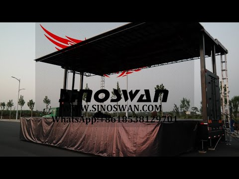 MOBILE STAGE TRUCK VIDEO
