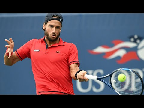 2017 US Open: Lopez Slams A Forehand