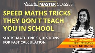 Speed Maths Tricks They Don't Teach You in School | Short Math Trick Questions for Fast Calculation