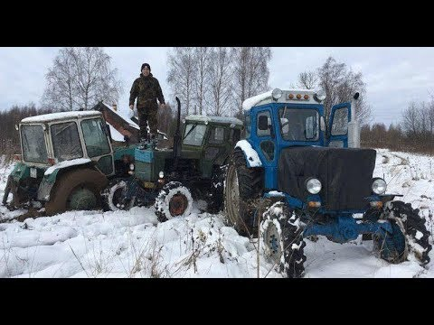 Два Т-40, ЮМЗ-6 и Дт-75 - Кирюха московский не при делах!