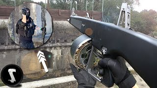 Angry CHEATER gets HAMMERED by Full-Auto AA-12 (instant karma)