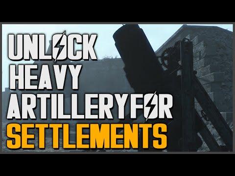 Fallout 4: Unlock Artillery Defense for Settlements (Old Guns Quest)