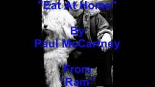 """Eat At Home"" By Paul McCartney"