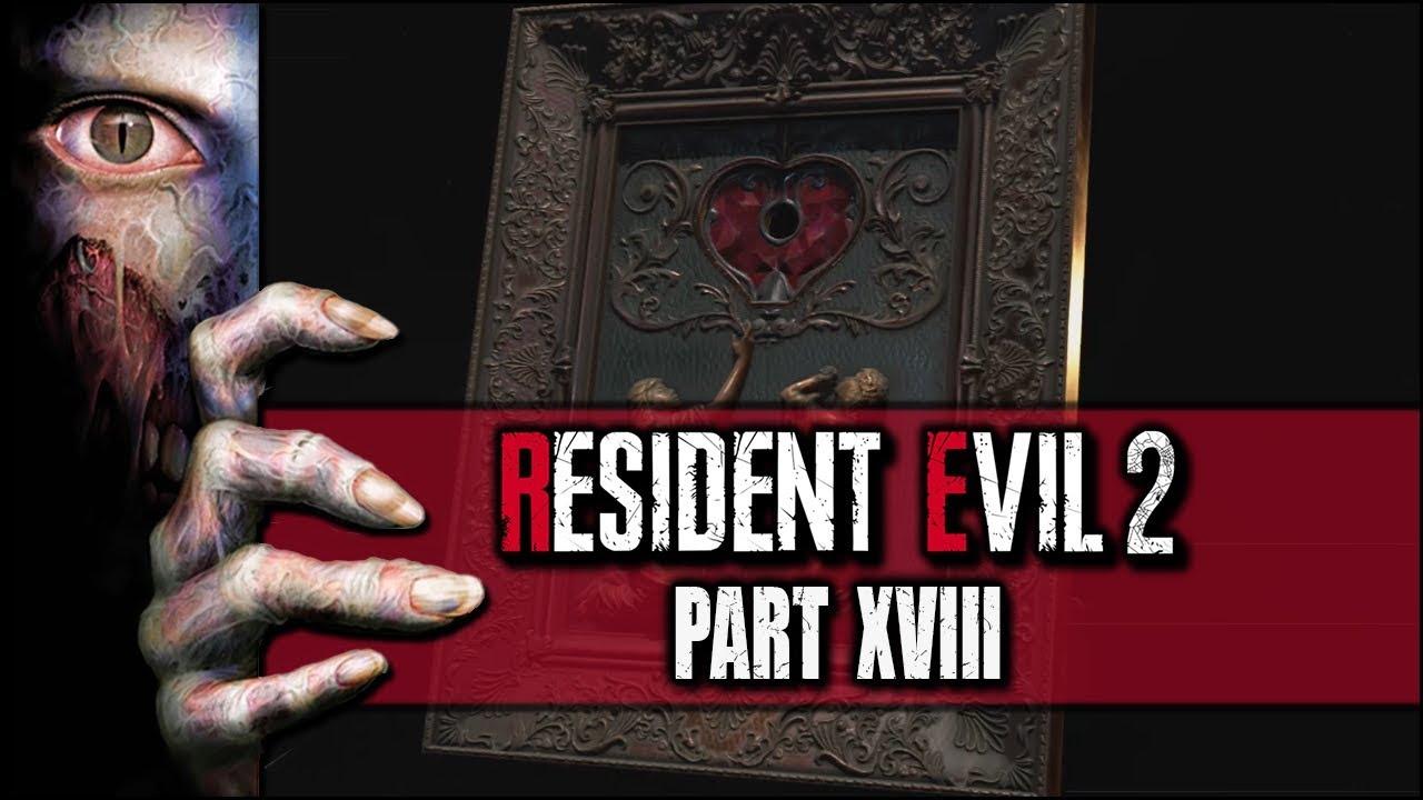 Resident Evil 2 Remake Der Herzschlüssel Claire B 18 Youtube