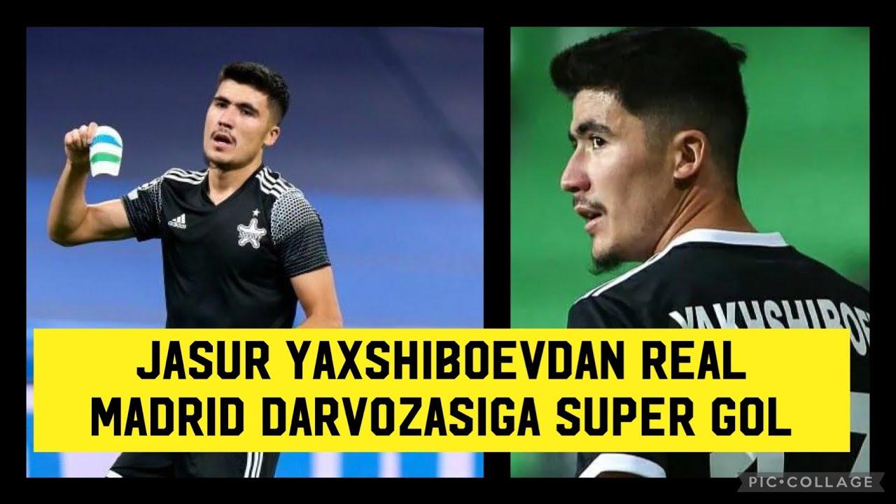 Download O'zbek Yigiti Jasur Yaxshiboevdan Real Madrid Darvozasiga Super Gol. Sheriff - Real Madrid. 28.09.21