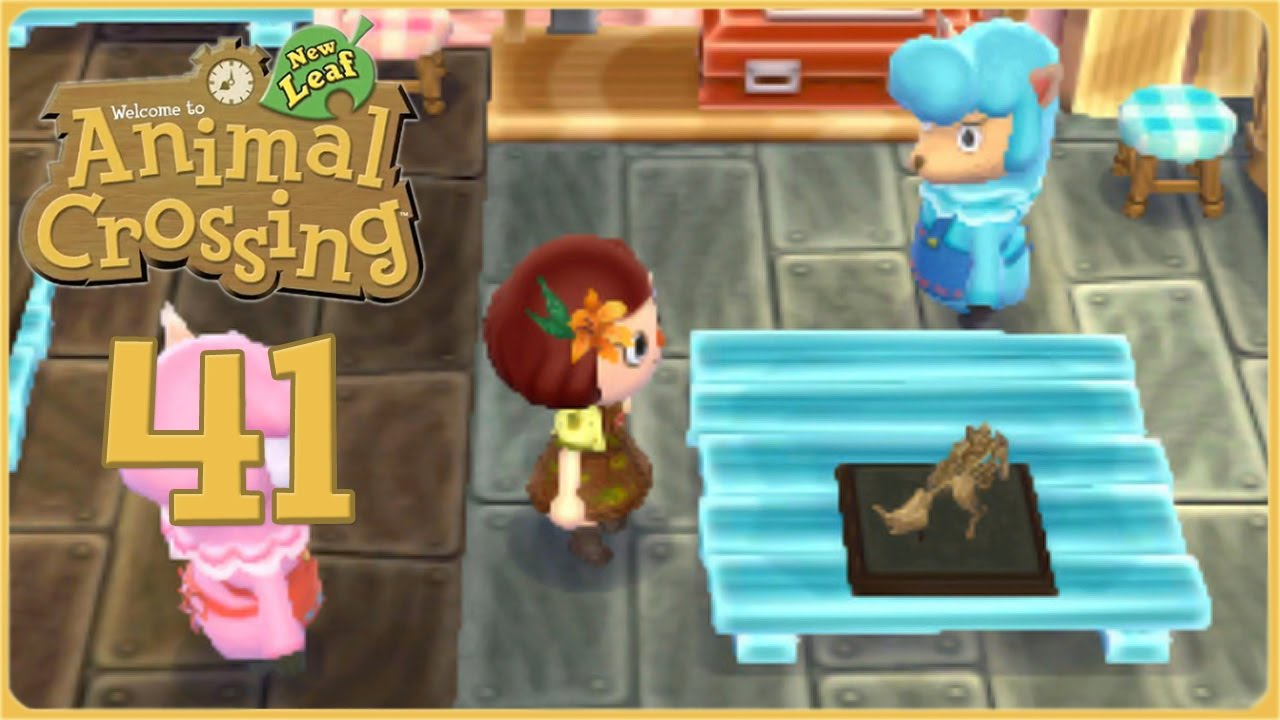 Making Mini Dinosaur Fossils Animal Crossing New Leaf Episode 41
