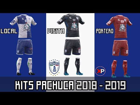 Kits del Pachuca 18/19 | DLS-FTS - YouTube