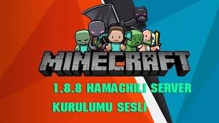 minecraft hamachili server kurma 1.8.8