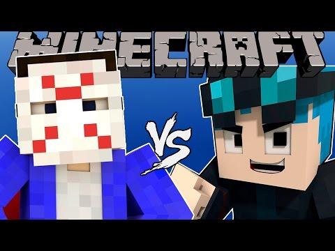 H2ODelirious VS THEDIAMONDMINECART (DanTDM) - [Minecraft Animation]