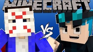 H2ODelirious VS THEDIAMONDMINECART (DanTDM) - [Minecraft Animation]