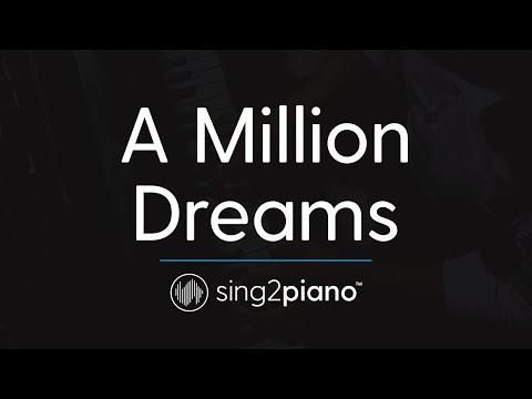 A Million Dreams (Piano Instrumental) originally by The Greatest Showman