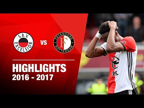 Samenvatting Excelsior - Feyenoord 2016-2017