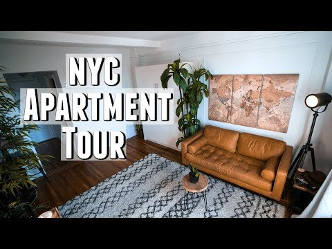 NYC Apartment Tour!! Minimalist Studio