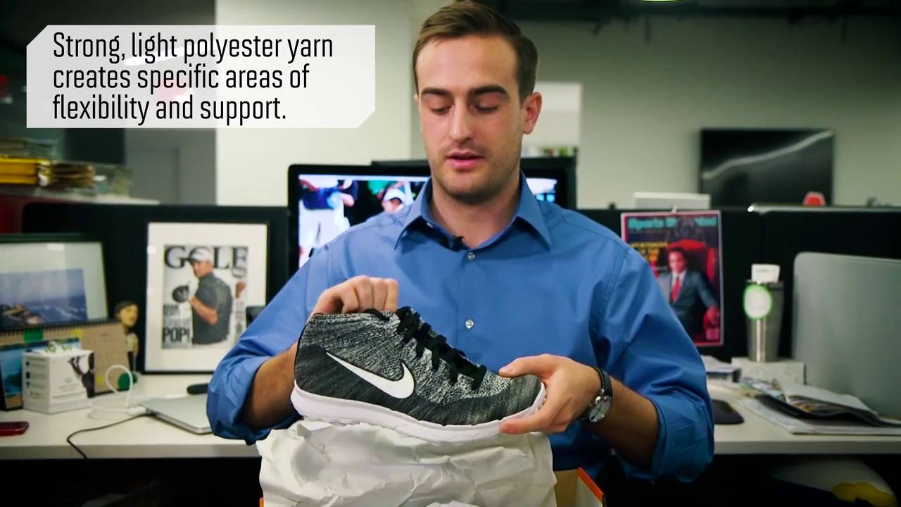 dialecto Leopardo A rayas  Out of the Box: Nike Flyknit Chukka | GOLF.com - YouTube