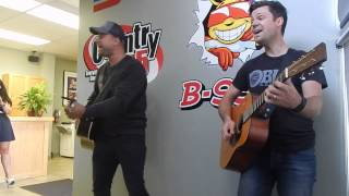 "Tebey at Country 95 ""Somewhere in the Country"""