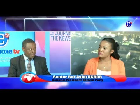 THE 6 PM NEWS EQUINOXE TV(GUEST BAR. ASHU AGBOR) FRIDAY, MAY 04TH 2018