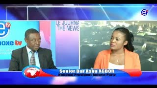 THE 6 PM NEWS EQUINOXE TV(GUEST BAR. ASHU AGBOR) FRIDAY, MAY 04TH 2018