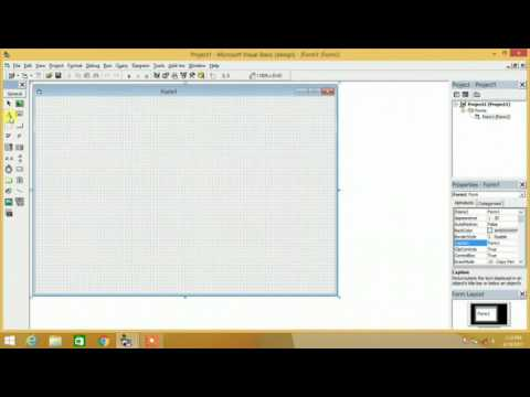 Cara Membuat Biodata Dengan Visual Basic