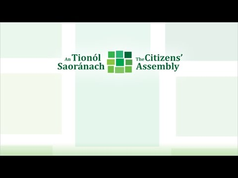 The Citizens' Assembly with Irish Sign Language - Saturday 26 November 2016