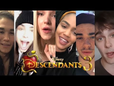 Descendants Cast Reacts to Descendants 3 Announcement
